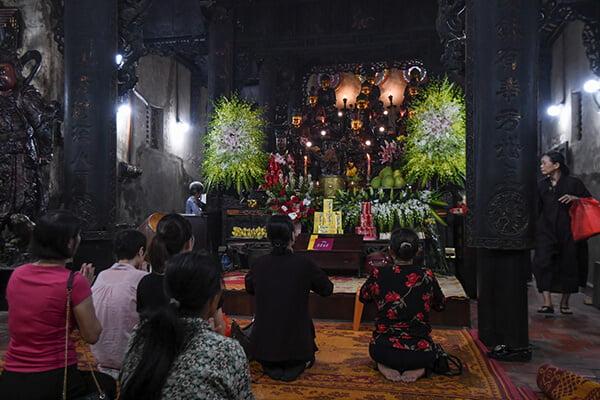 Lễ Vu Lan Tại Chùa Phúc Khánh Hà Nội