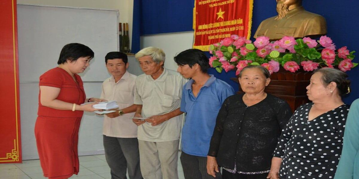 Thăm hỏi trao tặng quà tết cho bà con huyện Củ Chi 2019