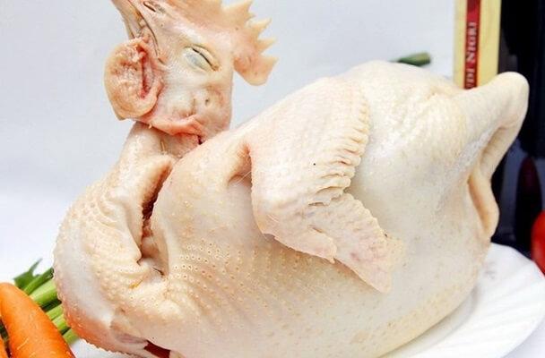 chọn gà luộc cúng