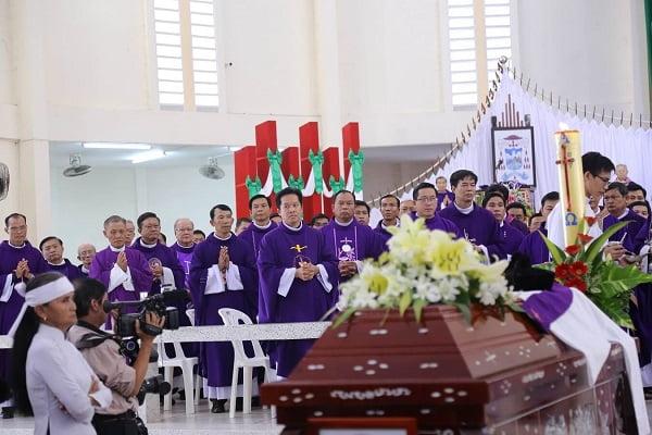 Nghi Thức Lúc Lâm Chung Trong Tang Lễ Công Giáo