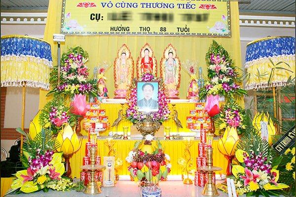 Tang Lễ Theo Nghi Thức Phật Giáo