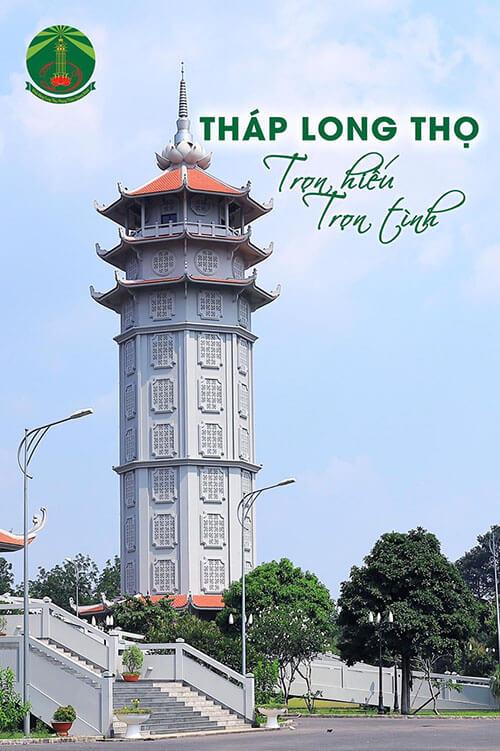 Tòa Tháp Lưu Tro Cốt 10 Tầng