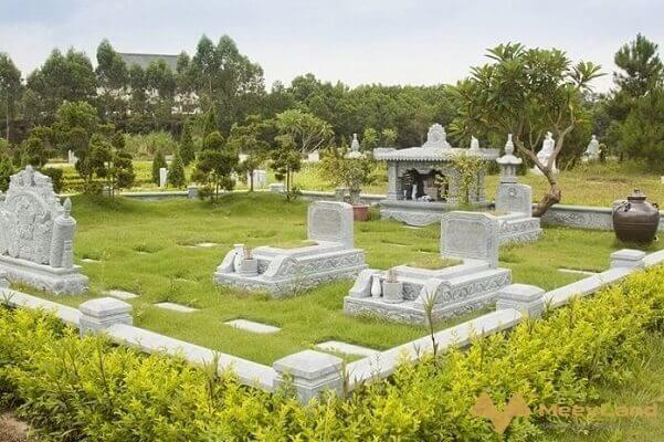 xác định hướng đối với huyệt mộ